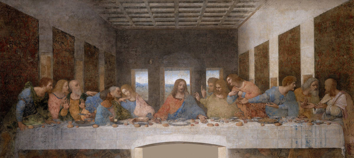 Jesus and Mary Magdalene - Leonardo Da Vinci's Last Supper