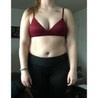 Body Type Three (BT3) Female - Fellow One Research Body Type Shape Test - The Four Body Types Research Participant 594