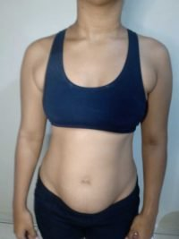 Body Type Two (BT2) Female - Fellow One Research Body Type Shape Test - The Four Body Types Research Participant 554