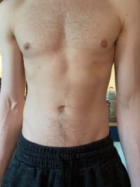 Body Type One (BT1) Male - Fellow One Research Body Type Shape Test - The Four Body Types Research Participant 570