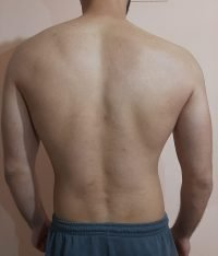 The Four Body Types Research Participant 568, Body Type Two (BT2) Male - Fellow One Research Body Type Shape Quiz/Test