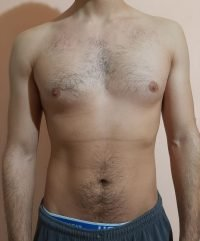 Body Type Two (BT2) Male - Fellow One Research Body Type Shape Test - The Four Body Types Research Participant 568