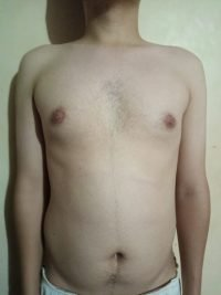 The Four Body Types Research Participant 571, Body Type Two (BT2) Male - Fellow One Research Body Type Shape Quiz/Test