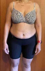 Body Type Three (BT3) Female - Fellow One Research Body Type Shape Test - The Four Body Types Research Participant 641