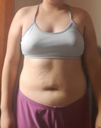 Body Type Three (BT3) Female - Fellow One Research Body Type Shape Test - The Four Body Types Research Participant 679