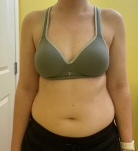 Body Type Two (BT2) Female - Fellow One Research Body Type Shape Test - The Four Body Types Research Participant 672
