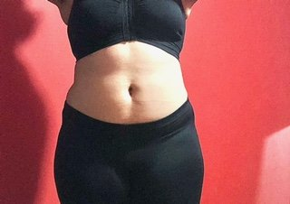 Body Type Four (BT4) Female - Fellow One Research Body Type Shape Test - The Four Body Types Research Participant 673