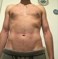 Body Type Two (BT2) Male - Fellow One Research Body Type Shape Test - The Four Body Types Research Participant 700