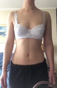 Body Type Two (BT2) Female - Fellow One Research Body Type Shape Test - The Four Body Types Research Participant 688