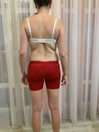 Body Type Two (BT2) Female - Body Type Quiz/Test Participant 709 - Fellow One Research, The Four (4) Body Types