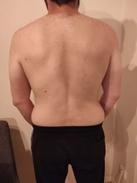 The Four Body Types Research Participant 705, Body Type Two (BT2) Male - Fellow One Research Body Type Shape Quiz/Test