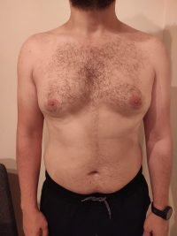 Body Type Two (BT2) Male - Fellow One Research Body Type Shape Test - The Four Body Types Research Participant 705