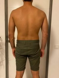 The Four (4) Body Types - Body Type Quiz (Male/Man/Men) Results 844, Body Type One (BT1) - Fellow One Research Participant Test